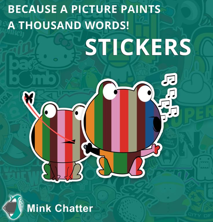 Do better conversations without a thousand words. Mink Chatter Stickers and Gif's for a heartfelt exchange of feelings!