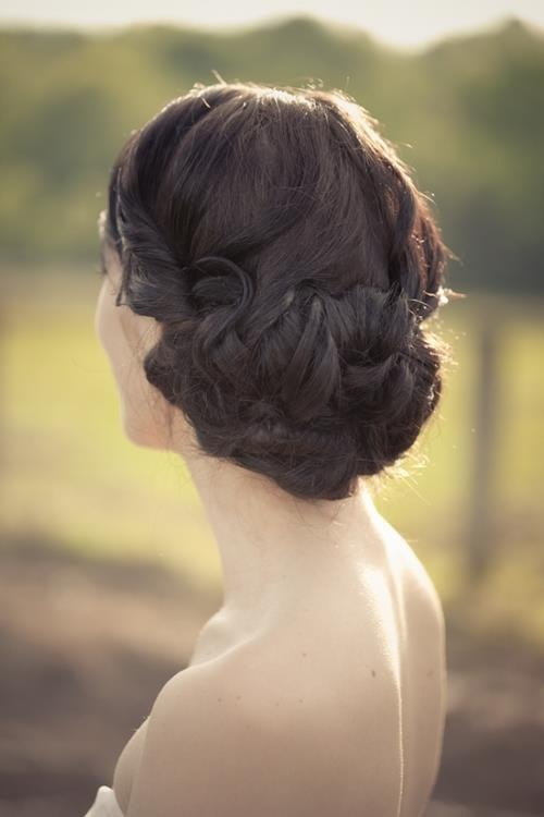#Promhair - loved the braided bun!  #updo #hairstyle #prom2013 #afterprom