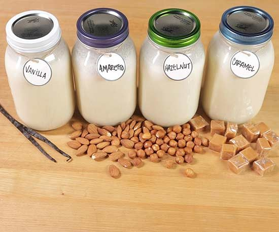 Homemade coffee creamer is a cinch to make and tastes so much better than store bought. All you need are two base ingredients and our four ideas for flavor mix-ins. Your morning coffee just got way more delicious. /