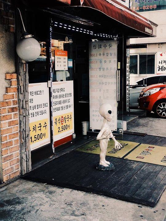 Sean Patrick Maylone / Saw this weirdo unsupervised kid / 서울 관악 신림 / #골목 #거리 #장사 #괴물 / 2014 11 01 /
