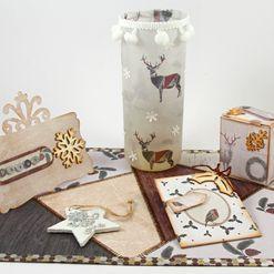 Vánoční stolování s jelenem