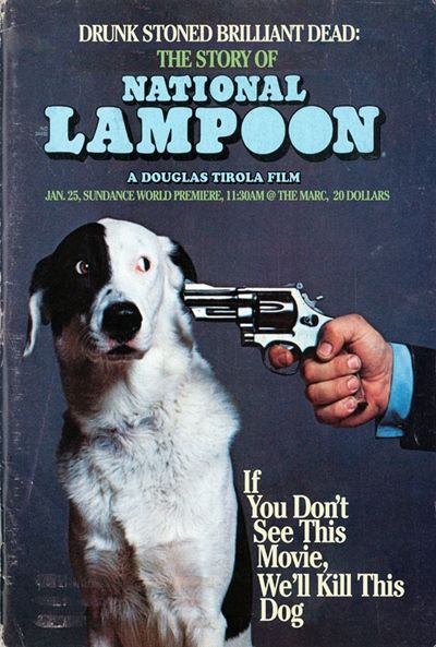 National Lampoon, The Story of; movie poster
