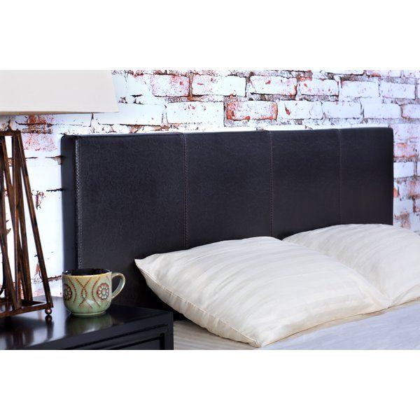 Temara Upholstered Panel Headboard Reviews Allmodern Upholstered Panels Headboard Upholstered Headboard