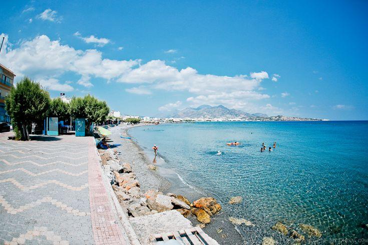 Ιεράπετρα. Иерапетра, Крит, Греция - Я не боюсь идти по дороге