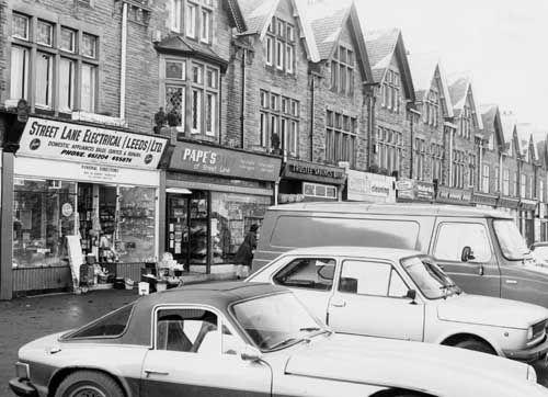 Street Lane, 1979 Leeds.