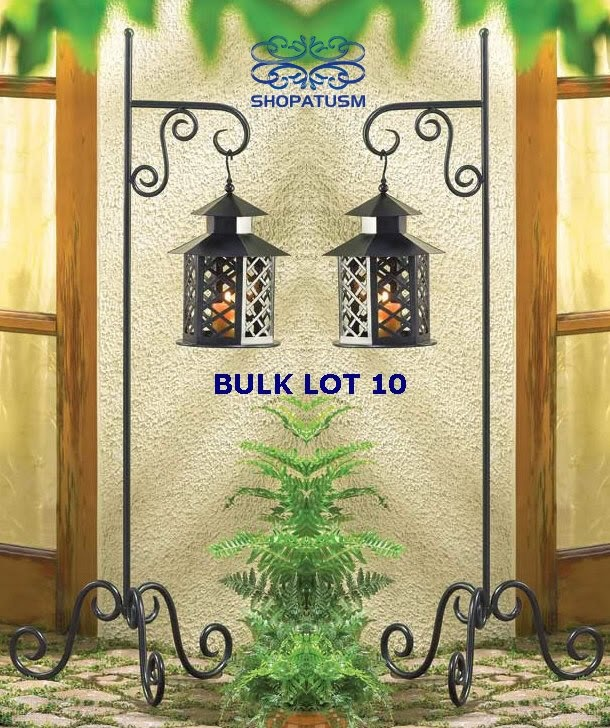Perfect For Patio Events, Wedding, Or Receptions. Wholesale Cottage Black  Hanging Garden Lanterns