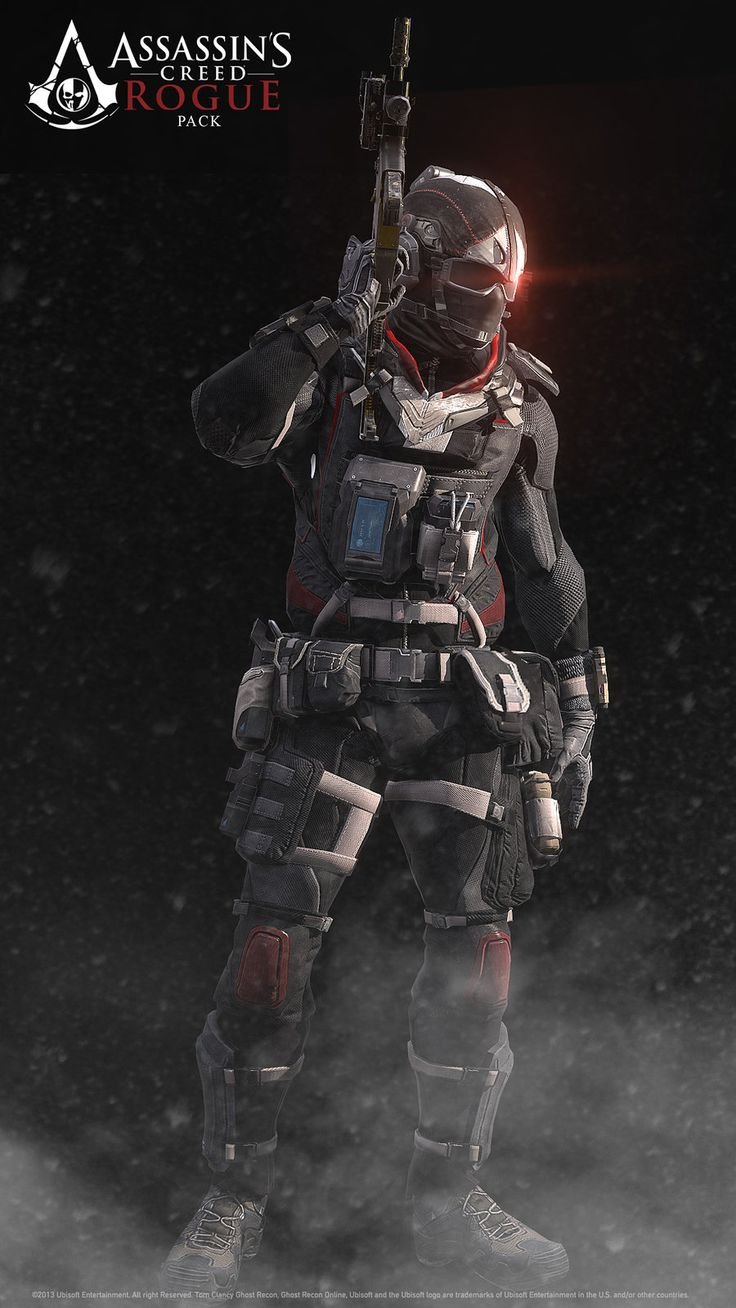 Ghost Recon Phantom /ACRogue CrossOver-Support Class, Khan SevenFrames on ArtStation at http://www.artstation.com/artwork/ghost-recon-phantom-acrogue-crossover-support-class