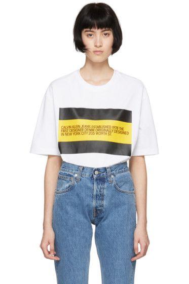 6c070c5e4eb9 Calvin Klein Jeans Est. 1978 - White  Est. 1978  Patch T-Shirt ...