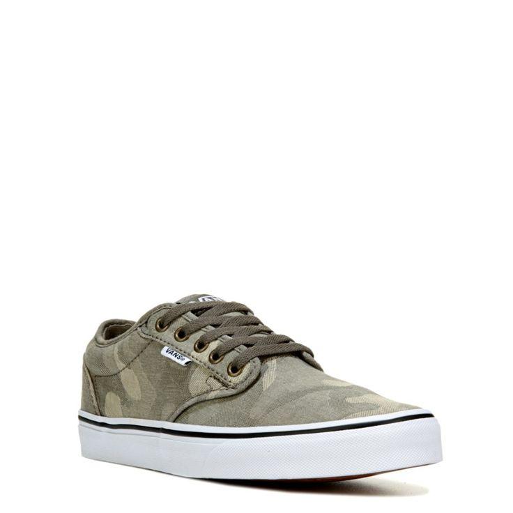 Vans Men's Atwood Skate Shoes (Khaki Camo)