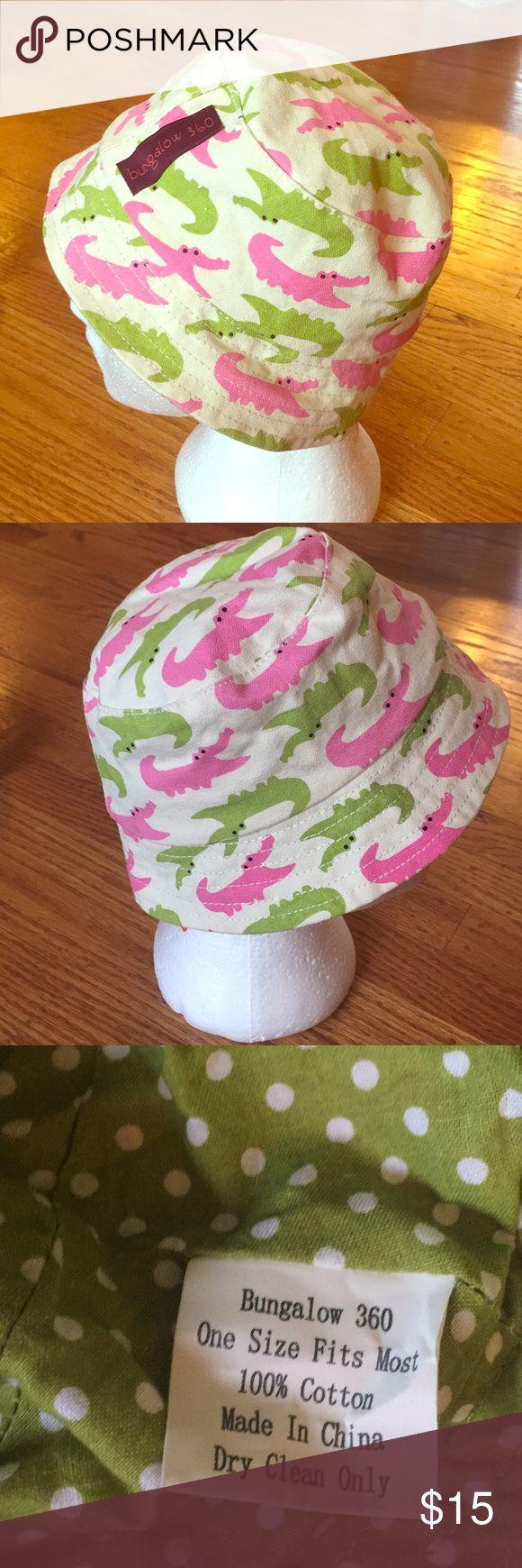 Bungalow 360 alligator bucket hat Children's bucket hat.great condition! bungalow 360 Accessories Hats