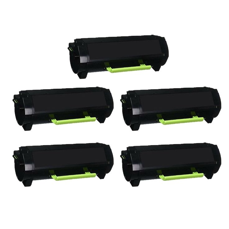 5Pack 24B6020 MICR HY Compatible Toner Cartridge For Lexmark XM7155 / 7153 / 7170 (Pack of 5) (Black)