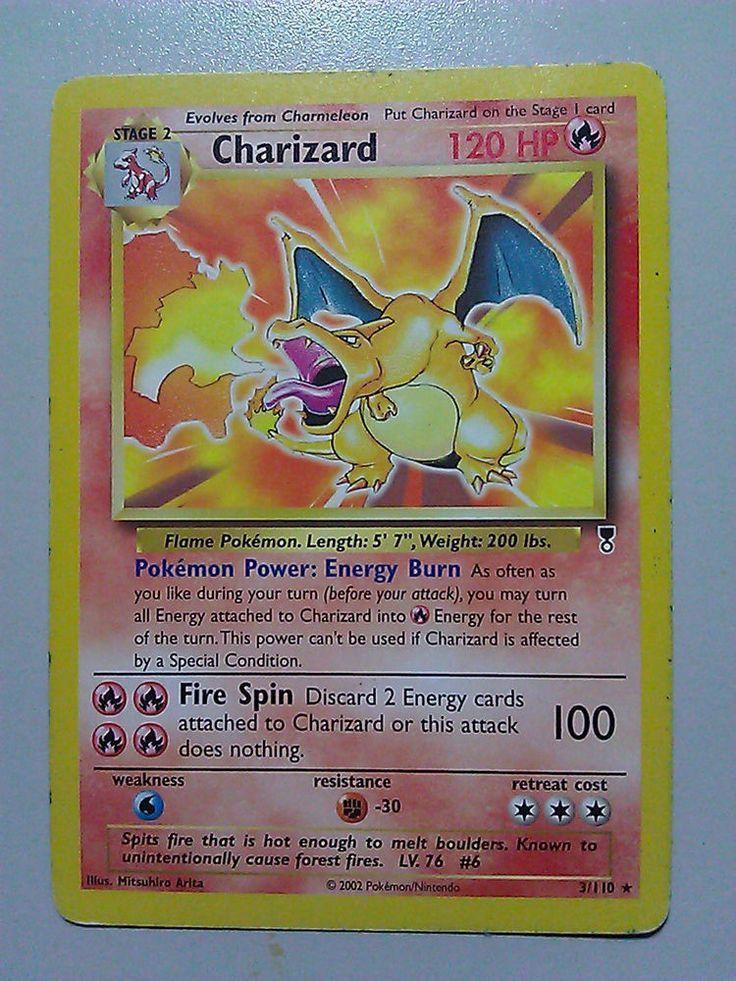 Charizard 3110 legendary set collection non holo pokemon