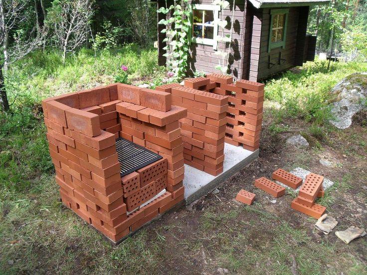 Brick grill