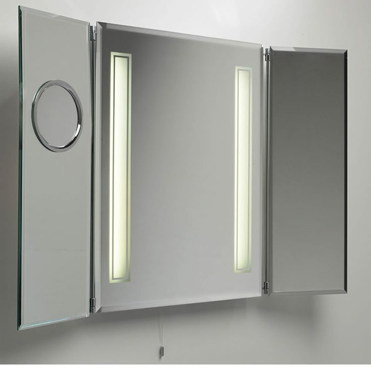 Bathroom Mirror Cabinet With Lights 9 best bathroom mirrors with light images on pinterest | bathroom
