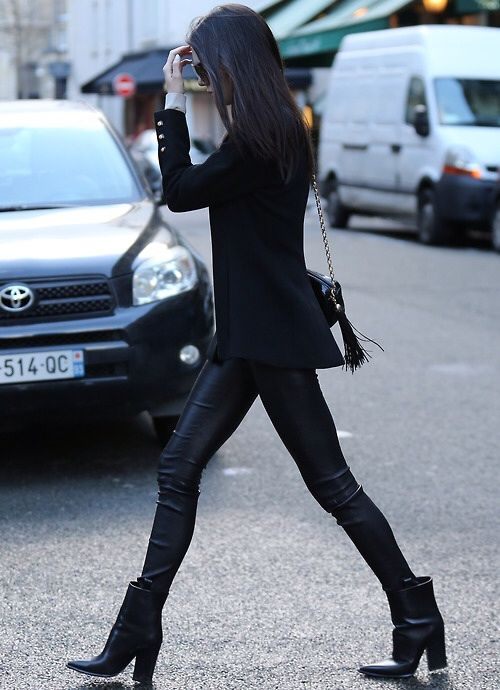 yeah so, I guess she's basically flippin the bird to the naysayers about now. walked Givenchy today. so there. #KendallJenner in Paris.