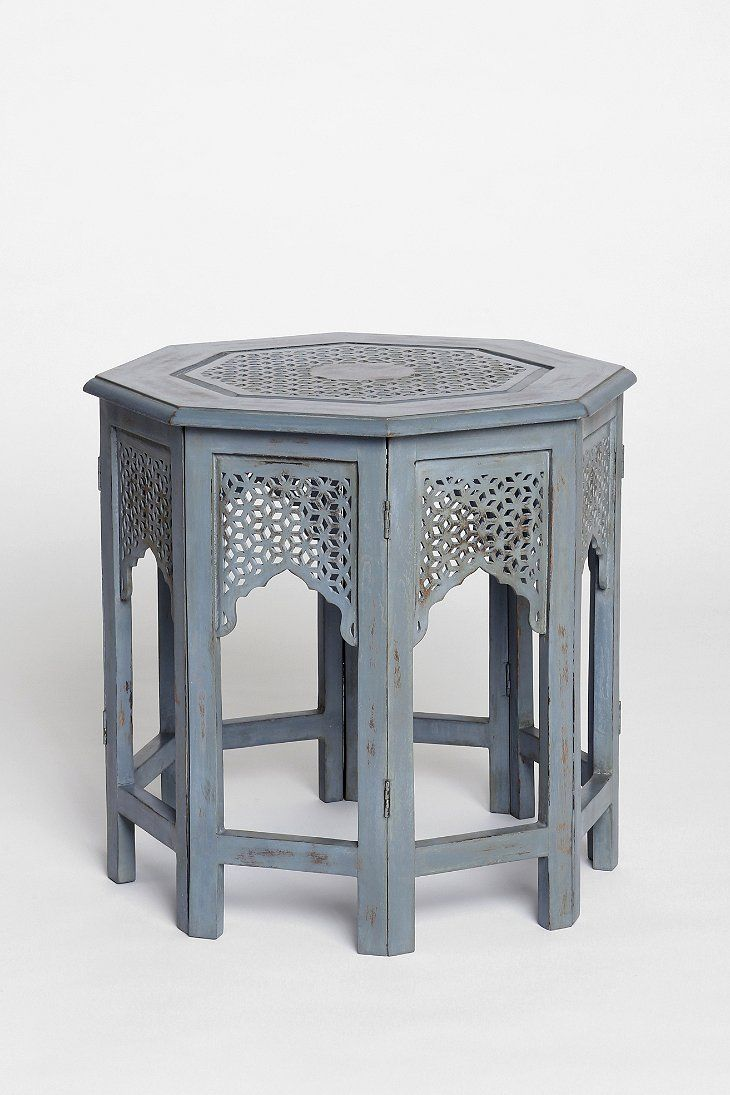 Morocco Hexagon Side Table From Urban Outfitters. Love The Details, Would  Be Beautiful In