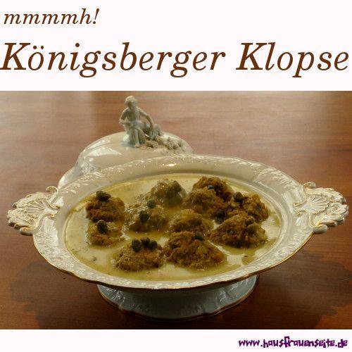Königsberger Klopse - Rezept mit Bild