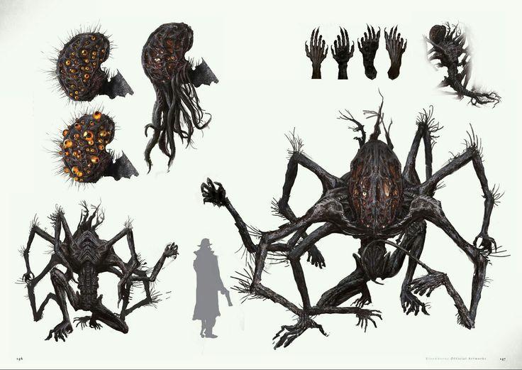 Bloodborne Concept Art - Amygdala Concept Art
