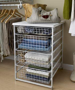 ClosetMaid 4 Drawer Kit Http://www.organisemyhome.com/bedroom_drawers/