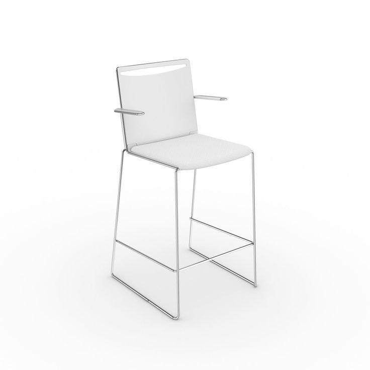 Семейство KLIKIT от VIASIT: кресла для персонала, стулья для конференц-залов, барные стулья, скамьи для посетителей отличаются элегантностью и свежим итальянским дизайном. 2 модели. Спинка и сиденье - полипропилен. Цвет: белый, черный, серый. Спинка - сетка (цвет: белый, черный, серый), сиденье - полипропилен (цвет: белый, черный, серый). Опора: белая стальная или хромированная рама. Дополнительно: обивка сиденья, полностью обитое сиденье и спинка,