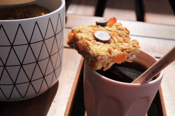 Apricot Chocolate Muesli Bars