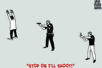 "Powerful ""Stop Or I'll Shoot!"" Cartoon Highlights Role Of Video In Wake Of Walter Scott Shooting"