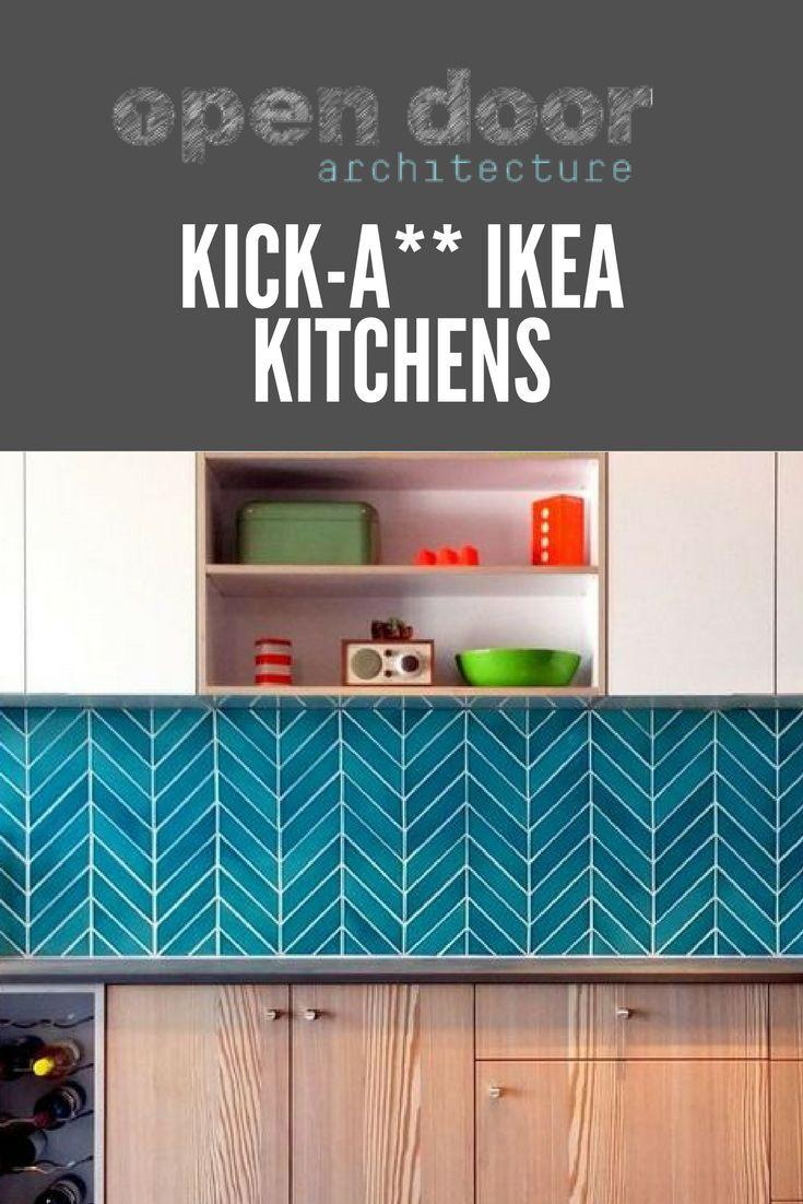 19 best Kick-A** Ikea Kitchens images on Pinterest | Kitchen ...