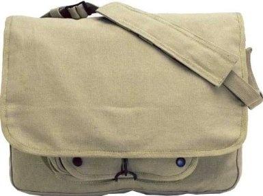 Khaki Vintage Canvas Military Paratrooper Shoulder Bag.: Canvas Military, Shoulder Bags, Paratroop Bags, Water Bottle, Khakis Vintage, Vintage Canvas, Messenger Bags, Vintage Wardrobe, Camera