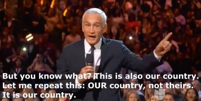 Jorge Ramos: U.S. Is 'Our Country, Not Theirs'