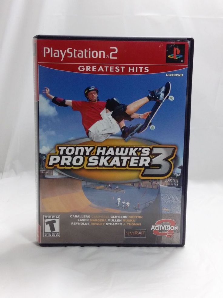 Tony Hawk's Pro Skater 3 Greatest Hits - Complete -  Playstation 2  Video Game