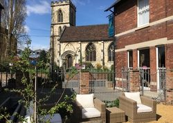 The Parisi Hotel | United kingdom Yorkshire England. What's not to like? This is a cool hotel with an arty feel within the city walls - kind staff, yummy breakfasts and York Minster wait