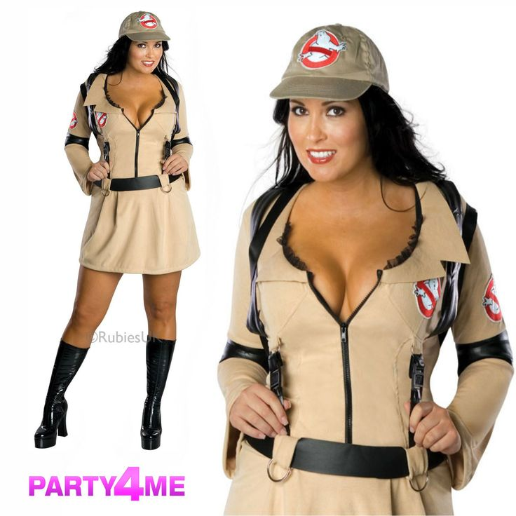 Cheap ladies ghostbusters fancy dress