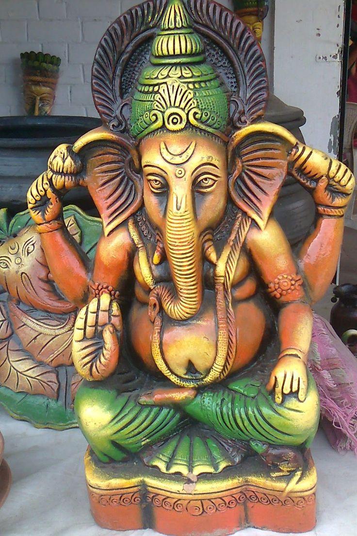 Eco Friendly Ganesh Clay Idol Making at Home In the Ganesh Chaturthi Utsav, devotees are celebrating this utsav with joy and fun w...