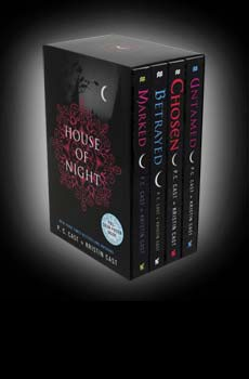 House of Night is a series of vampire-based fantasy novels by American author P. C. Cast and her daughter Kristin Cast.