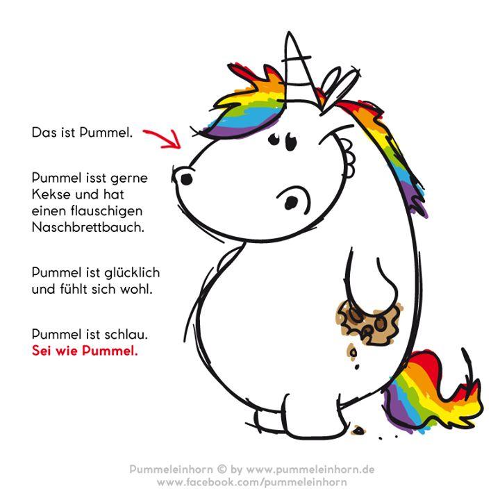 Sei wie Pummel :-)