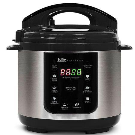 6. Elite Platinum EPC-414 Maxi-Matic 4 Quart Electric Pressure cooker