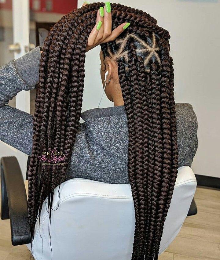 Pin By Hey W On Braidz Box Braids Hairstyles For Black Women Hair Styles Braided Hairstyles For Black Women
