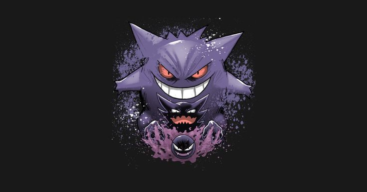 Gengar evolution by edusuarez
