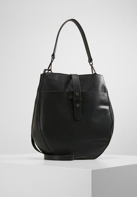 e2447cf30fd7 Marc O Polo HOBO - Handbag - black ...