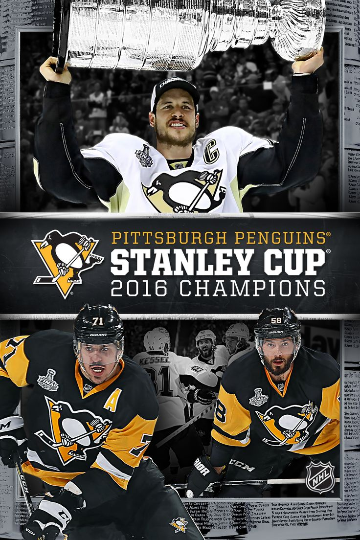 Pittsburgh Penguins 2016 Stanley Cup Champions Movie Poster - Kris Letang…