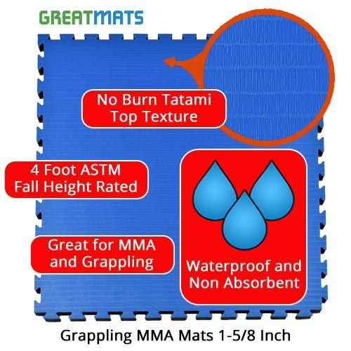 Grappling MMA Mats are commonly for BJJ, MMA, and other grappling martial arts. #mma #bjj #martialarts