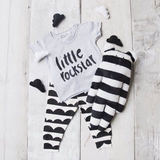 Baby in Style. Designer Baby Fashion. Love this bandit look available at @ellemillashop Blog — Yummy Mummy Pregnancy Day Spa