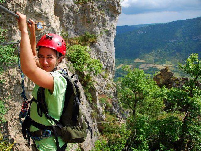 Exploration ViaFerrata, j'offre : http://www.web-commercant.fr/cheques/loisirs/florac-48400/tourisme-actif/428-exploration-viaferrata