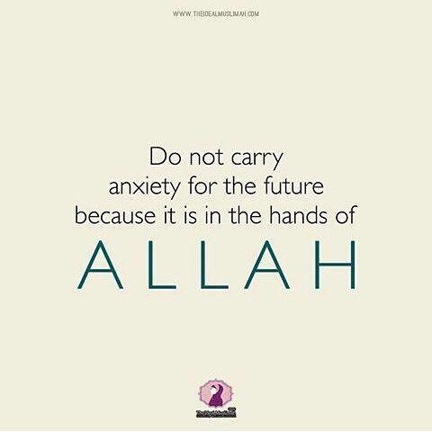 ♛  @ALISHAZAMAN_  ♛لا تحمل هم غداً ما دام الغد بيد الله