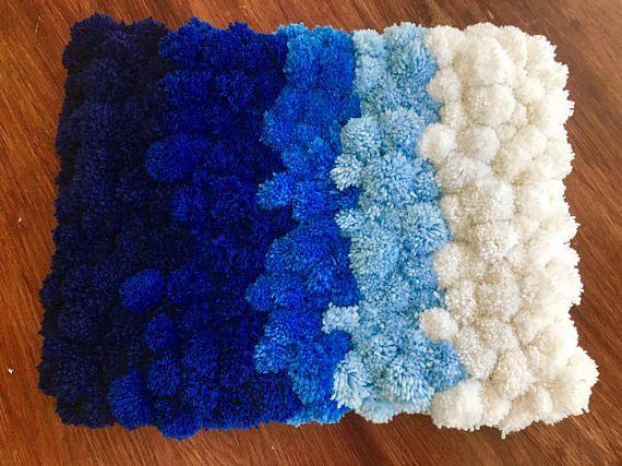 Pom Pom alfombra suave alfombra alfombra de baño Doem