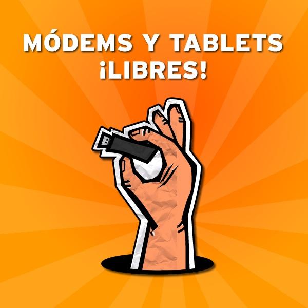 Nuestros Módems y Tablets libres!!!