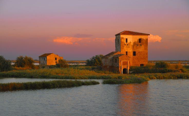 Il Po in moto: le Valli di Comacchio