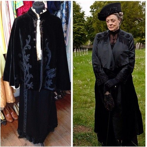 Victorian outfit to suit a Dowager! Victorian cape - £55 • Victorian skirt - size UK 6/8 - £45 #victorian #victorianskirt #dowager #maggiesmith #dowagercountess #glasgow #glasgowwestend #violetcrawley #downtonabbey #downton #twitter #instagram #internationalselling #elegant #sophisticated #quality #victorianclothing #original #outfit #dressup #costume