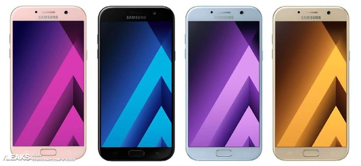 Samsung Galaxy A5 2017 samt Spezifikationen geleakt