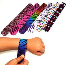 Directions and a video on how to make your own slap bracelet using duct tape, a measuring tape and scissors.
